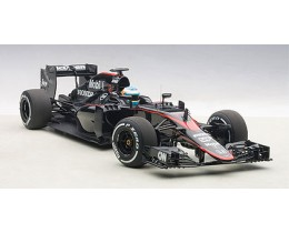 McLAREN MP4-30 F1 2015 (BARCELONA/SPAIN) F.ALONSO #14 (WITH DRIVER FIGURINE FITTED IN COCKPIT) - AUTOART