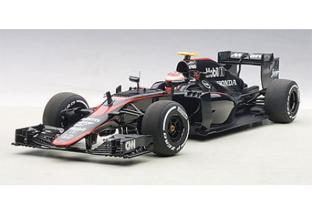 McLAREN MP4-30 F1 2015 (BARCELONA/SPAIN) J.BUTTON #22 (WITH DRIVER FIGURINE FITTED IN COCKPIT) - AUTOART