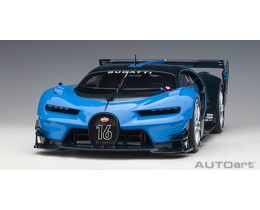 BUGATTI VISION GRAN TURISMO (LIGHT BLUE/BLUE CARBON) - AUTO ART
