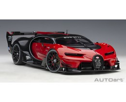 BUGATTI VISION GRAN TURISMO (RED/BLACK CARBON) - AUTO ART