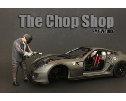 CHOP SHOP SET MR. WELDER (NO INCLUYE AUTO) - AMERICAN DIORAMA