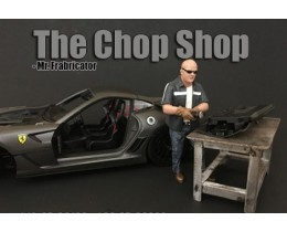 CHOP SHOP SET MR. FABRICATOR (NO INCLUYE AUTO) - AMERICAN DIORAMA