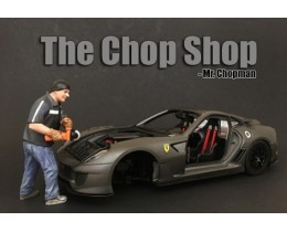 CHOP SHOP SET MR. CHOPMAN (NO INCLUYE AUTO) - AMERICAN DIORAMA