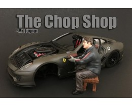 CHOP SHOP SET MR. LUGNUT (NO INCLUYE AUTO) - AMERICAN DIORAMA