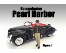 FIGURA I REMEMBERING PEARL HARBOR (NO INCLUYE AUTO) - AMERICAN DIORAMA