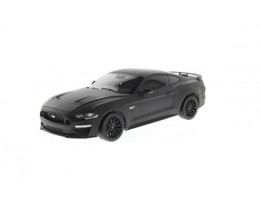 2019 FORD MUSTANG GT MATTE BLACK - DIECAST MASTERS