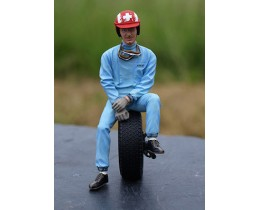 FIGURINE JO SIFFERT - LEMANS MINIATURES