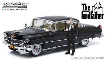 1955 CADILLAC FLEETWOOD SERIES 60 CON DON CORLEONE THE GODFATHER 1972 - GREENLIGHT
