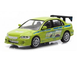2FAST 2FURIOUS MITSUBISHI LANCER EVOLUTION VII - ESCALA 1:43 GREENLIGHT
