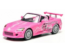 2FAST 2FURIOUS HONDA S2000 ROSA - ESCALA 1:43 GREENLIGHT