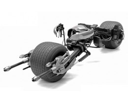 BATPOD THE DARK KNIGHT RISES - ESCALA 1:43 HOT WHEELS ELITE
