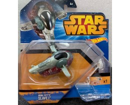 NAVE STAR WARS HOT WHEELS BOBA FETT`S SLAVE I