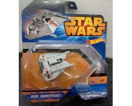 NAVE STAR WARS HOT WHEELS REBEL SNOWSPEEDER