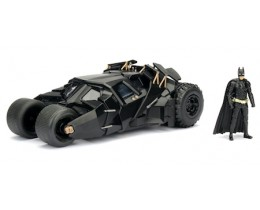 BATMOBILE 2008 THE DARK KNIGHT TUMBLER CON BATMAN - JADA