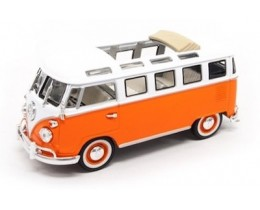 VOLKSWAGEN MICROBUS 1962 NARANJA - ESCALA 1:43 ROAD LEGENDS