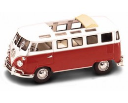 VOLKSWAGEN MICROBUS 1962 ROJO - ESCALA 1:43 ROAD LEGENDS