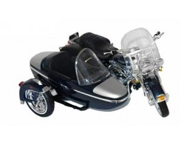 HARLEY-DAVIDSON FLHRC ROAD KING CLASSIC SIDECAR 2001 - MAISTO
