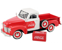 CHEVY PICK UP 1953 COCA-COLA - MOTOR CITY CLASSICS