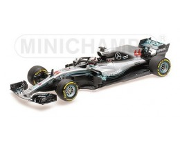 MERCEDES AMG PETRONAS FORMULA ONE TEAM F1 W09 EQ POWER LEWIS HAMILTON 2018 - MINICHAMPS