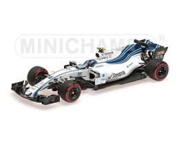 WILLIAMS MARTINI RACING MERCEDES FW40 LANCE STROLL ABU DHABI 2017- ESCALA 1:43 MINICHAMPS