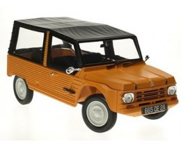 CITROEN MEHARI 1983 KIRGHIZ ORANGE - NOREV