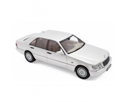 1997 MERCEDES-BENZ S320 WHITE - NOREV