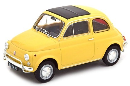 1968 FIAT 500 L YELLOW L.E. 500 PCS- NOREV