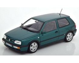 1996 VW GOLF VR6 METALLIC GREEN - NOREV