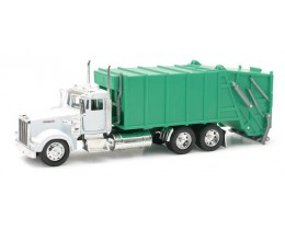 KENWORTH W900 GARBAGE TRUCK - NEW RAY