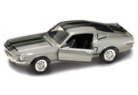 SHELBY GT 500KR 1968 GRIS- ROAD LEGENDS