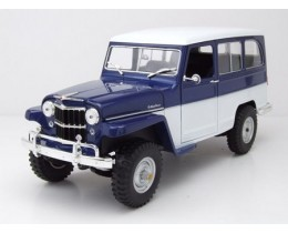 WILLYS JEEP STATION WAGON 1955 - ROAD LEGENDS