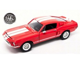 SHELBY GT 500KR 1968 ROJO  - ROAD LEGENDS