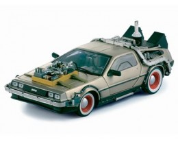 DELOREAN BACK TO THE FUTURE III CARA BLANCA - SUNSTAR