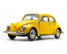 1961 VOLKSWAGEN BEETLE SALOON YELLOW BEE - SUNSTAR