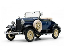 1931 FORD MODEL A ROADSTER RIVIERA BLUE - SUNSTAR