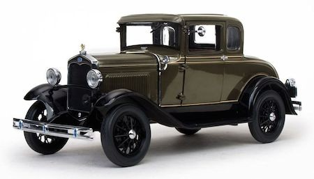 FORD MODEL A 1931 COUPE - SUNSTAR