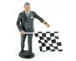 FIGURINE DIRECTOR DE CARRERA LE MANS 1950-1970 - LEMANS MINIATURES