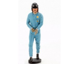 GRAHAM HILL - WALKING - HELMET &GLOVES ON - LE MANS MINIATURES