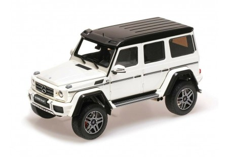 MERCEDES-BENZ G500 4X4 CONCEPT WHITE- ALMOST REAL